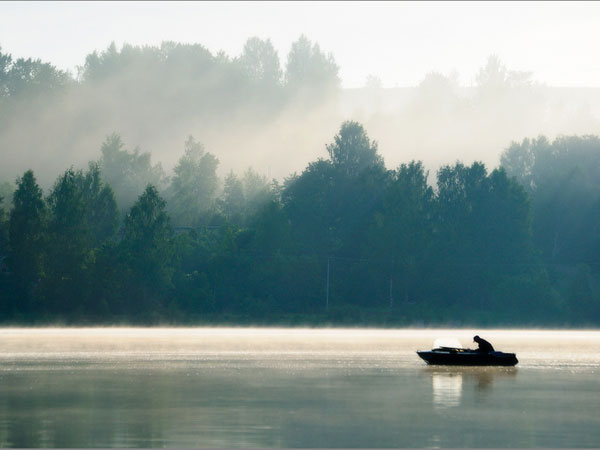 Plios. Volga river.