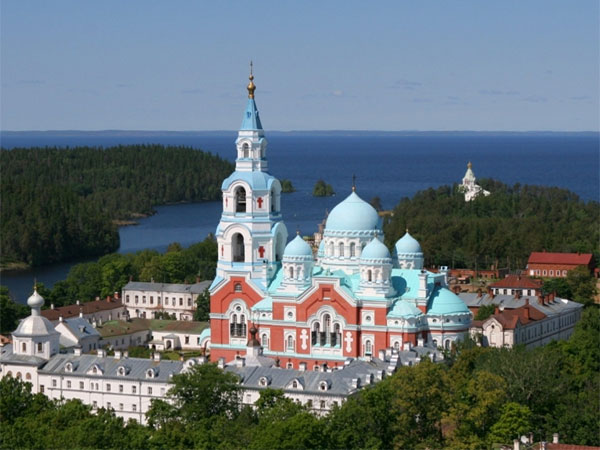 Valaam. The Transfiguration Church