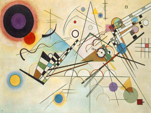 Exhibition of works of Wassily Kandinsky