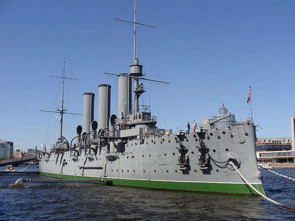 Cruiser Aurora is back after restoration