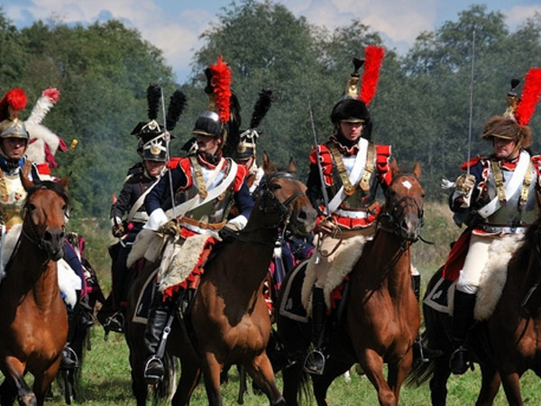 Borodino Battlefield. Reconstruction