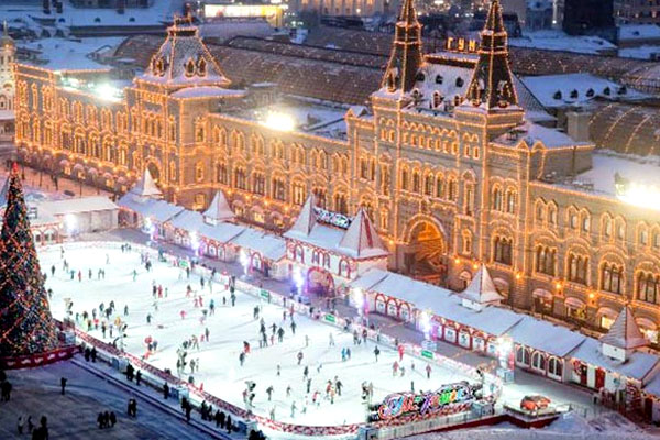 GUM Rink in the Red Square
