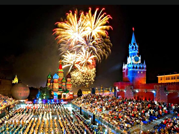 Moscow celebrated City Day
