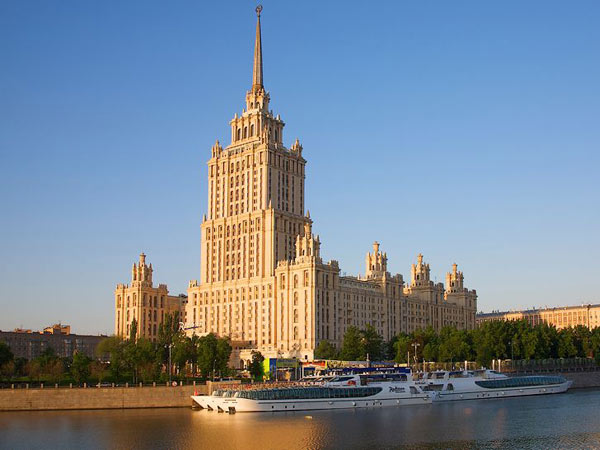 Moscow, Radisson Royal Hotel Ukraina 5*