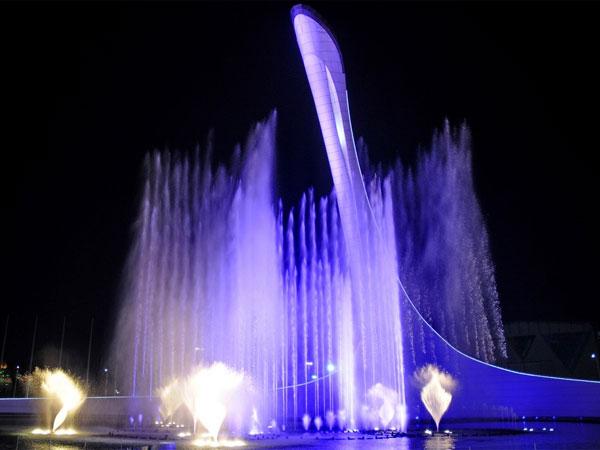 Olympic Park at Night
