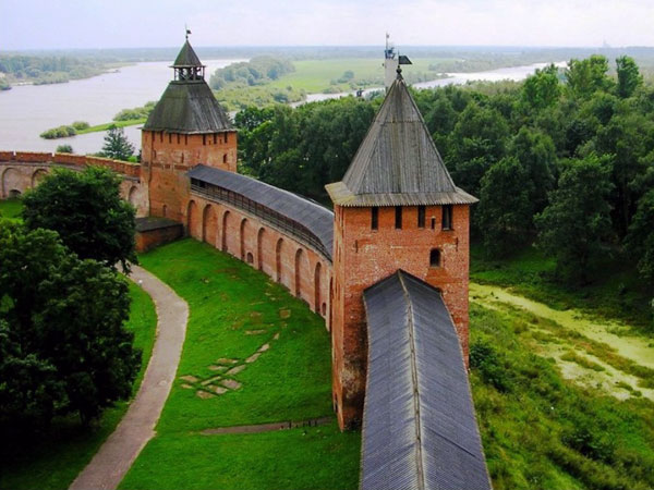 Novgorod. The Kremlin.