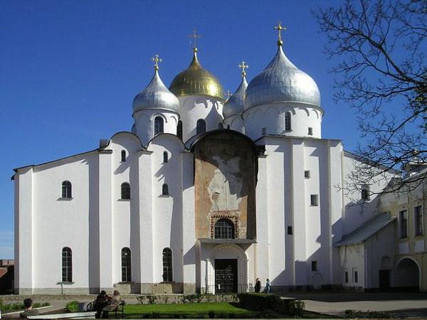 Novgorod. St. Sophia's cathedral.