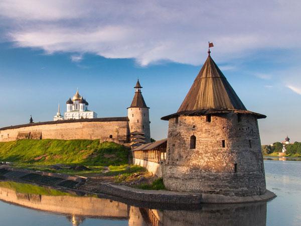 Pskov. The Kremlin.