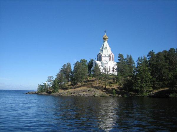 Valaam. The St. Nicholas Skit