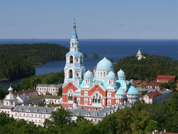 Valaam. The Transfiguration Church