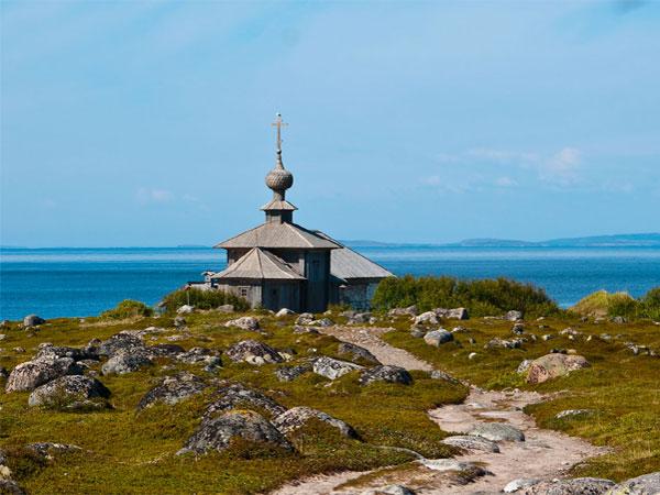 Solovki. The Zayatsky Island