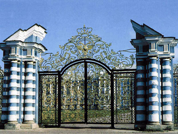Catherine Park, Gates. Pushkin (Tsarskoe Selo)